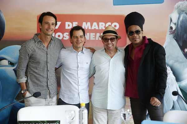 Rodrigo Santoro Carlinhos Brown Sergio Mendes Carlos Saldanha Rio