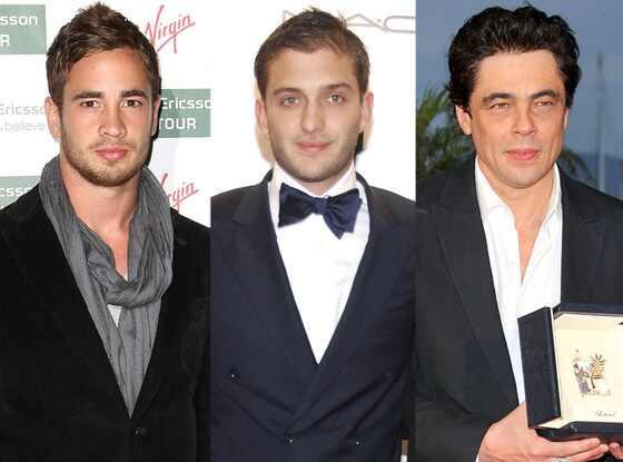 Lindsay Lohan, Danny Cipriani, Maggio Cipriani, Benecio Del Toro