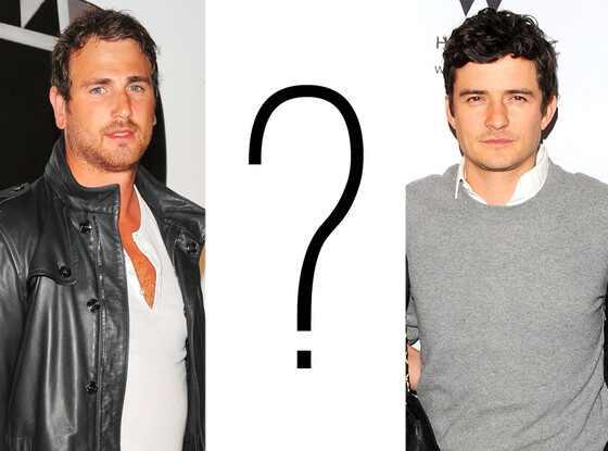 Lindsay Lohan, Aaron Voros, ?, Orlando Bloom