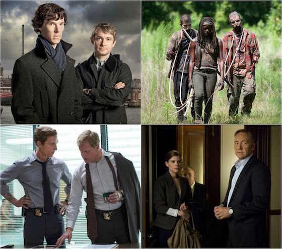 Series para assistir em 2014, Sherlock, Waling Dead, True Detective, House of Cards