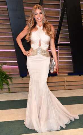 Sofia Vergara, Vanity Fair Oscar Party