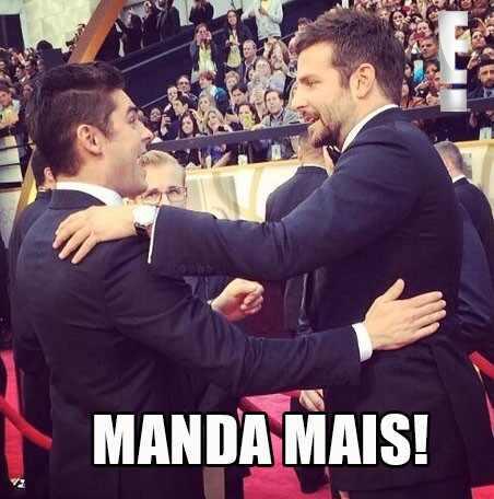 Leonardo DiCaprio Bradley Cooper meme Oscar