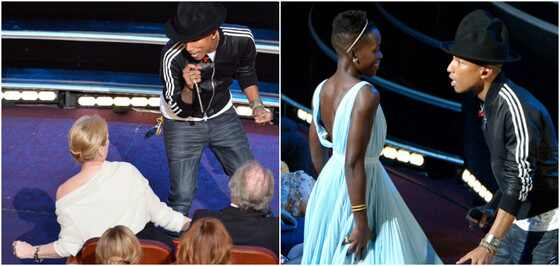 Pharrell Williams, Meryl Streep, Lupita Nyong
