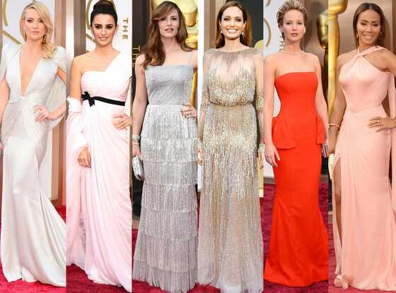 Jennifer Lawrence, Angelina Jolie, Kate Hudson, Jennifer Garner, Penelope Cruz, Jada Pinkett-Smith, Oscars