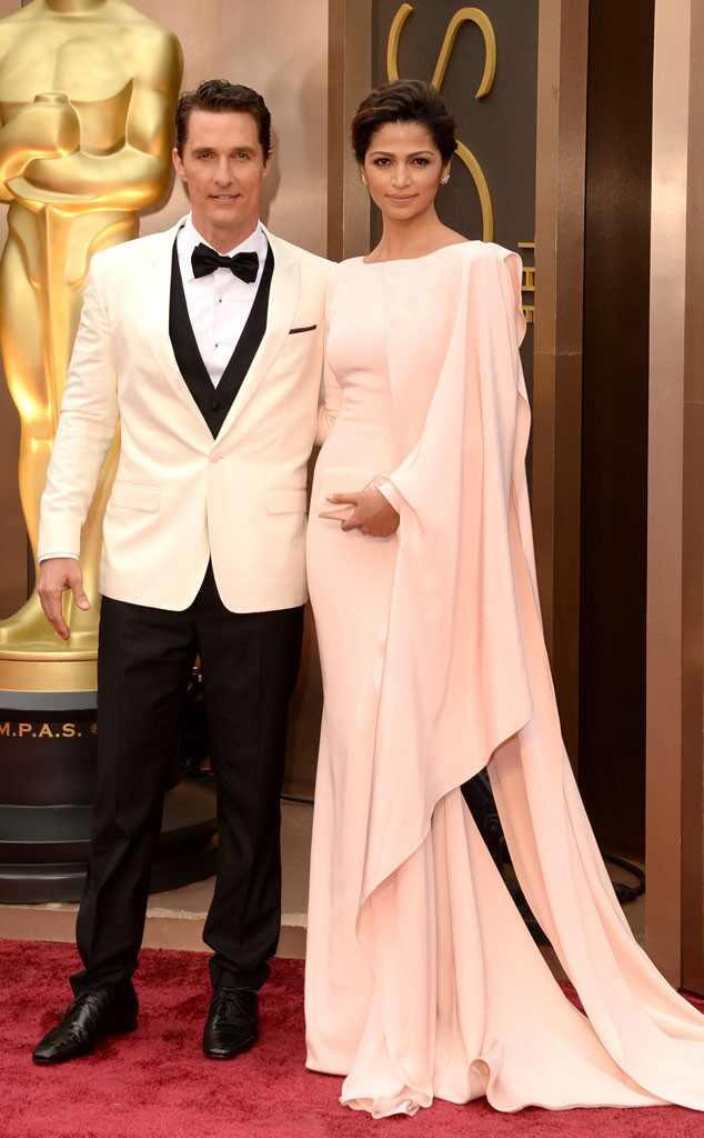 Matthew Conaughey, Camilla Alves, Oscars