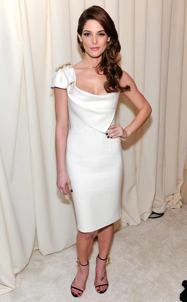 Ashley Greene, Oscars 2014, Elton John Party