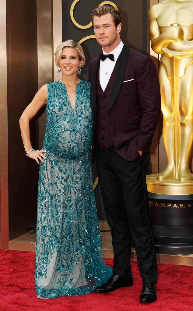 Elsa Pataky, Chris Hemsworth, Oscars