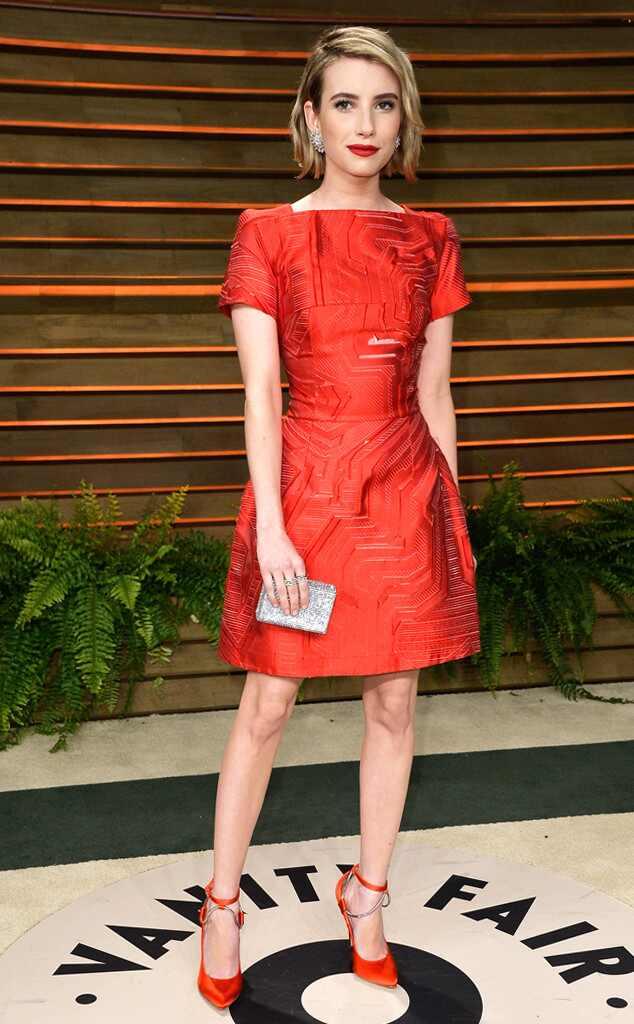 Emma Roberts, Vanity Fair Oscar Party