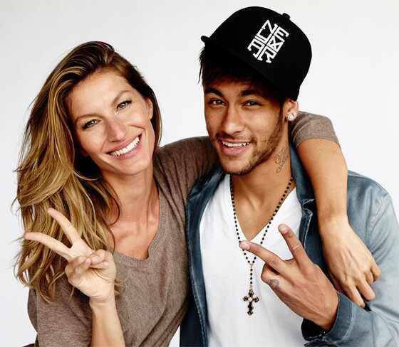 Gisele Bundchen, Neymar, Vogue Brasil