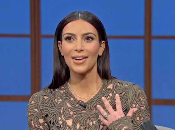 Kim Kardashian, Seth Meyers