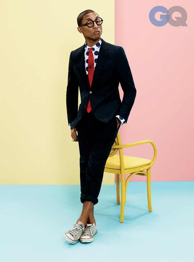Pharrell, GQ Magazine