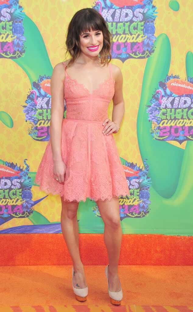Lea Michele, Kids Choice Awards 2014