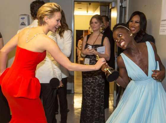Jennifer Lawrence, Lupita Nyong