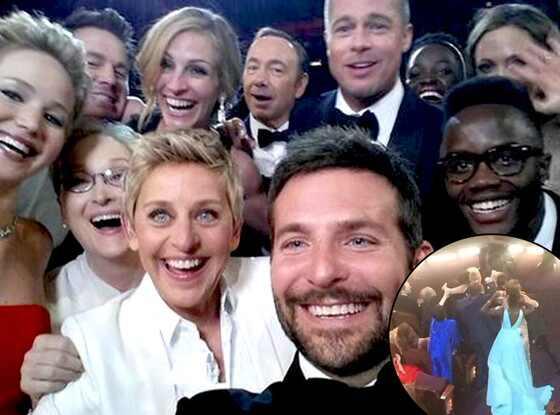 Ellen DeGeneres, Liza Minnelli, Oscar Selfie