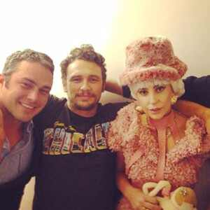 Taylor Kinney, James Franco, Lady Gaga
