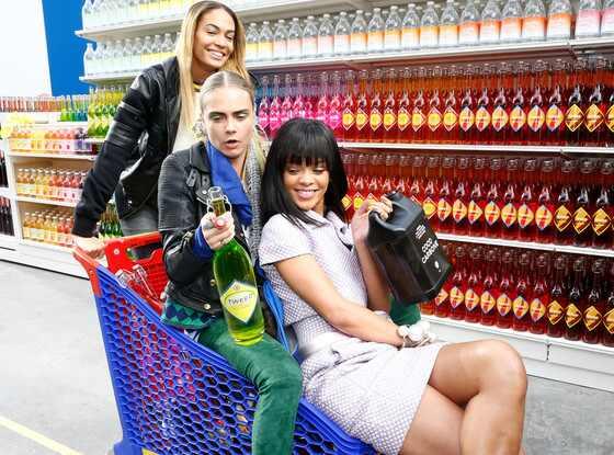 Rihanna, Cara Delevingne