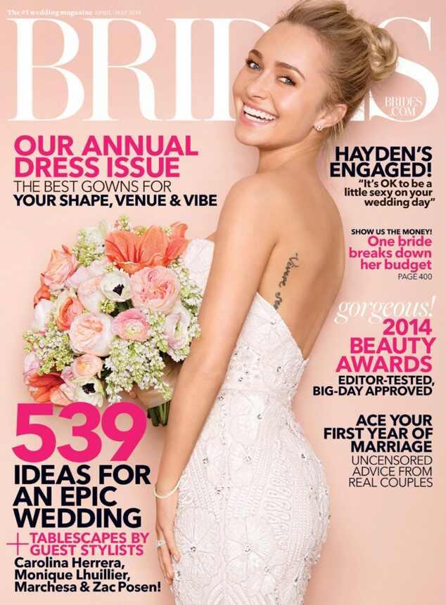 Hayden Panettiere, Brides Magazine