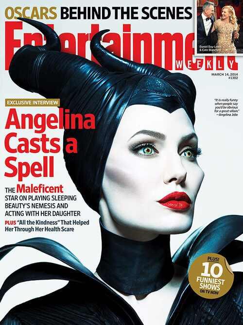 Malefica, Angelina Jolie