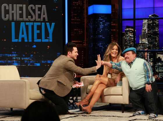 Justin Willman, Chelsea Lately, Khloe Kardashian