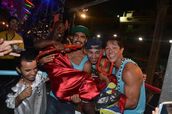 Caio Castro camarote salvador carnaval