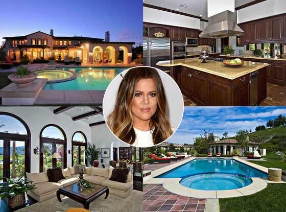 Khloe Kardashian, Justin Bieber House