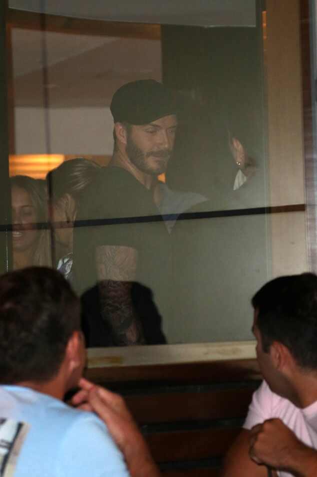 David Beckham Carnaval Rio de Janeiro