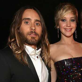 Jared Leto e jennifer Lawrence