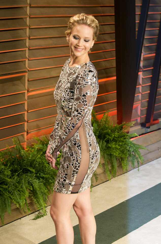 Jennifer Lawrence sem calcinha