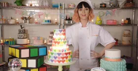 Katy Perry, Birthday Video Clip