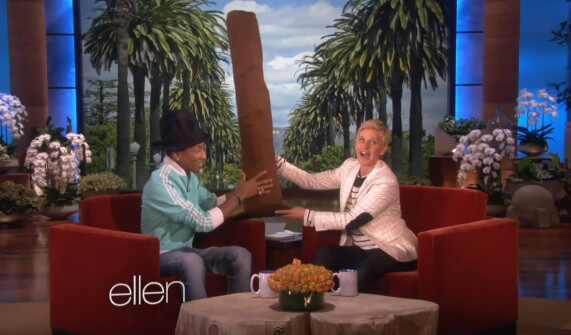 Ellen DeGeneres, Pharrell Williams