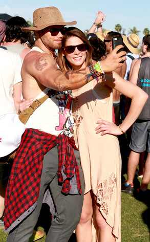 Kellan Lutz, Ashley Greene, Coachella