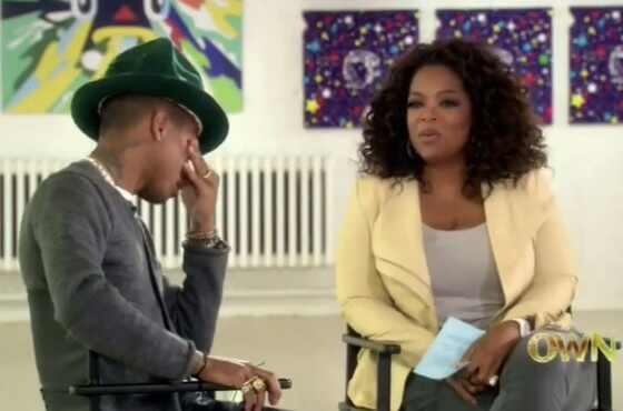 Oprah Winfrey, Pharrell Williams