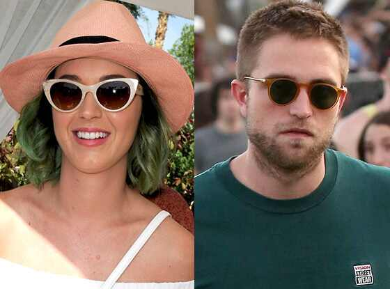 Katy Perry y Robert Pattinson despiertan rumores de romance