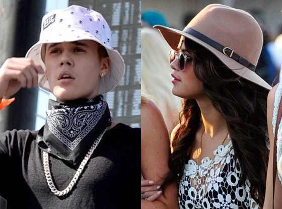 Justin Bieber, Selena Gomez, Coachella