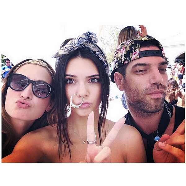 Kendall Jenner, Coachella, Instagram
