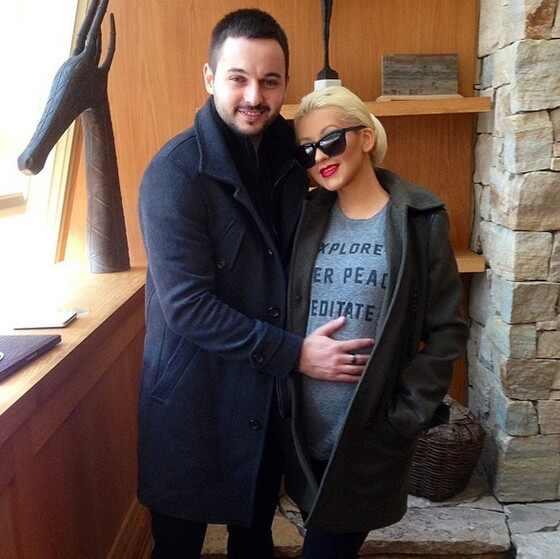 Christina Aguilera grávida