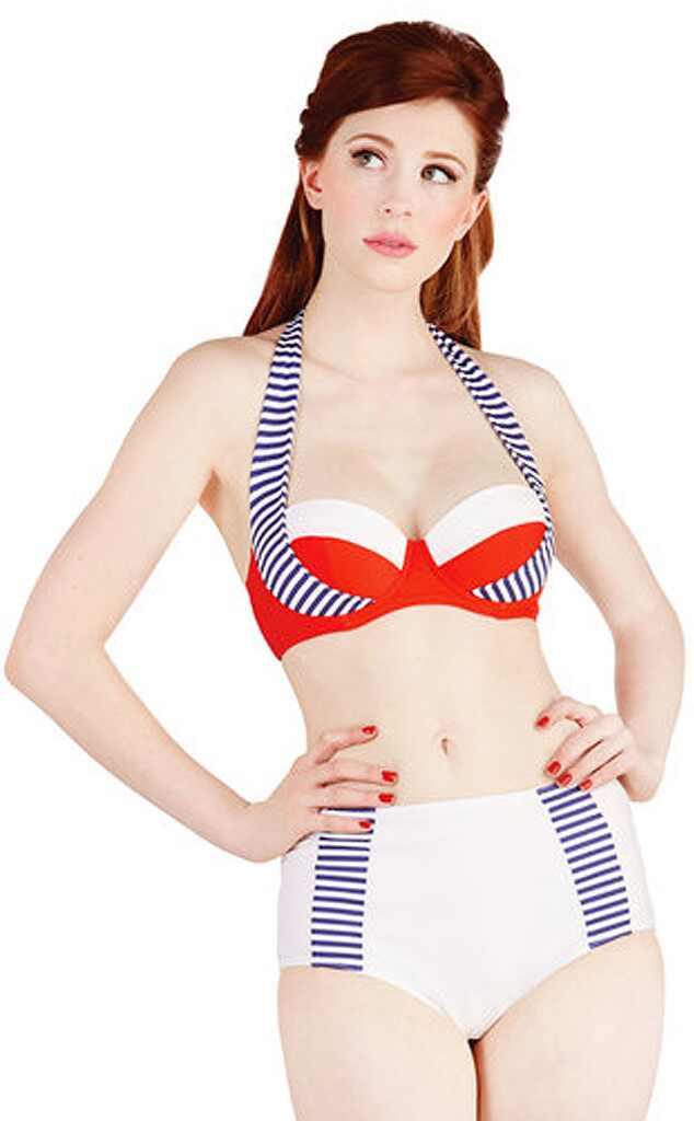 High waisted bikini modcloth