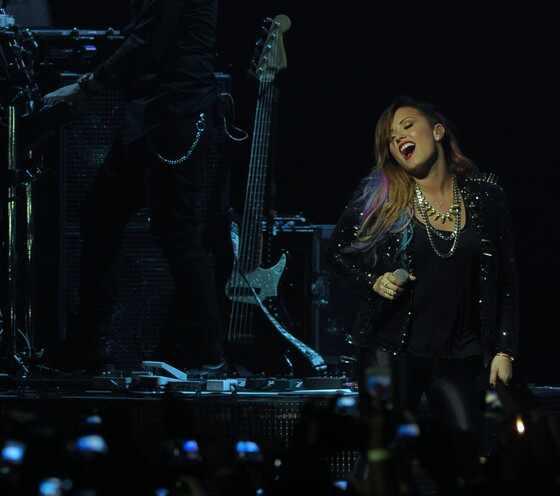 Demi Lovato show Brasil