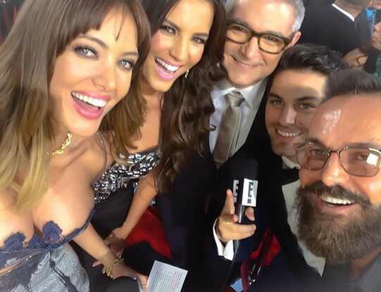Patricia Zavala, Gaby Espino, Gionni Straccia, Luis Enrique Urbano, Latin Billboards