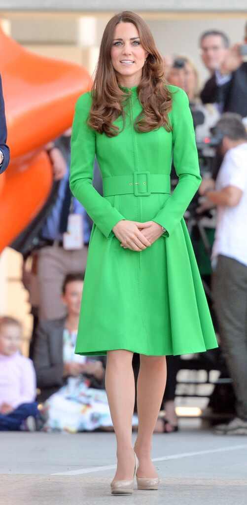 Платье кейт миддлтон зеленое