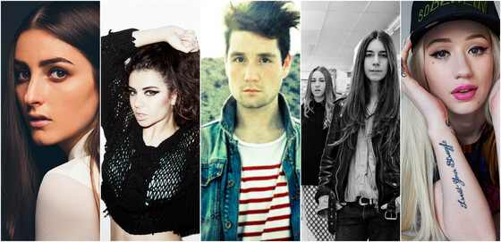 Novos artistas da música