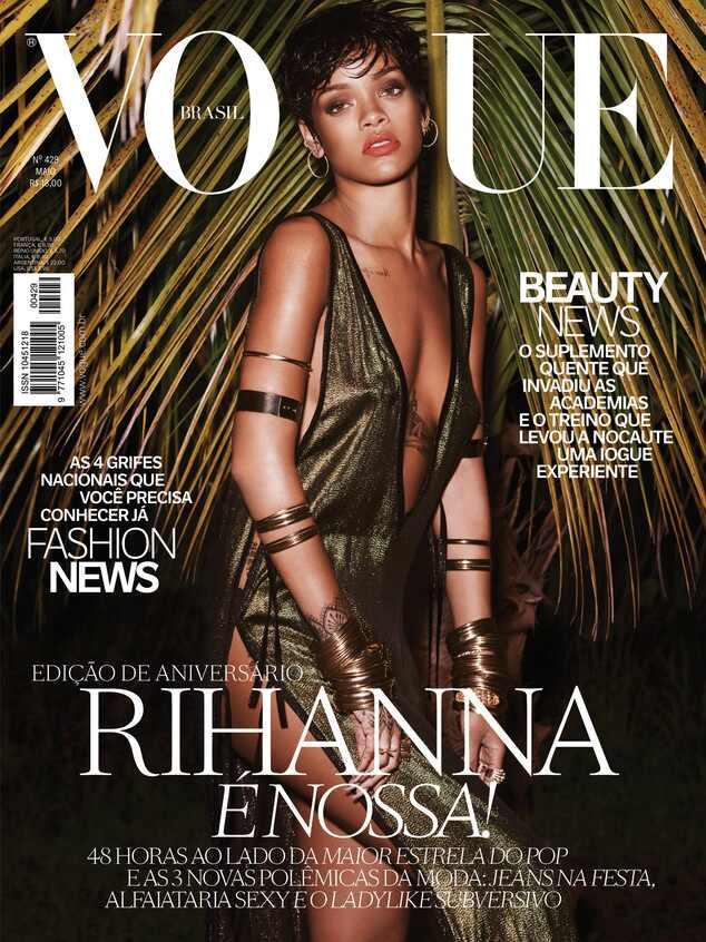 Rihanna, Rihanna Vogue Brasil, Vogue Brasil
