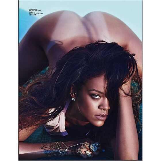 Rihanna faz topless e revista Lui
