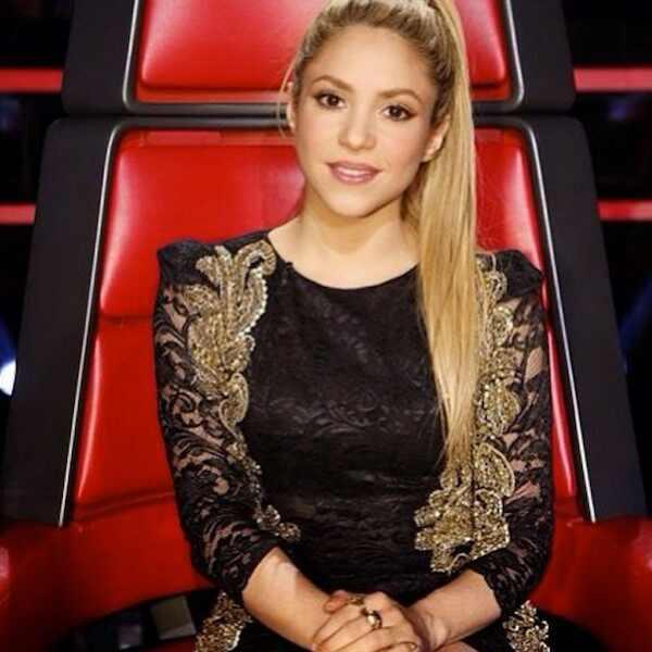 Shakira, Shakira The Voice, Shakira Vestido Pat Bo