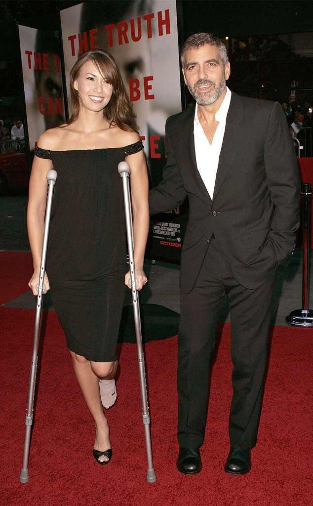 George Clooney, Sarah Larson