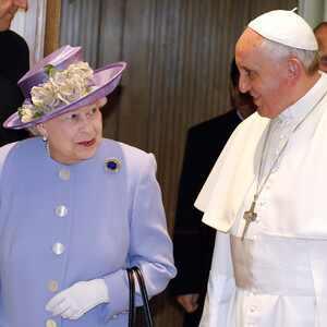 Queen Elizabeth, Pope Francis