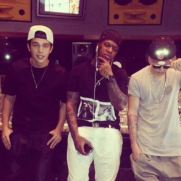 Justin Bieber, Austin Mahone