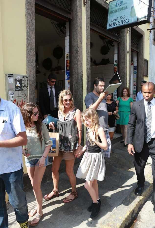 Kate Moss, Kate Moss no Rio de Janeiro
