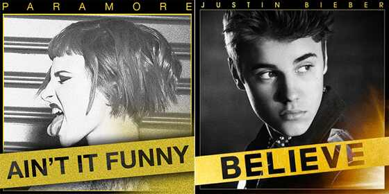 Justin Bieber, Paramore