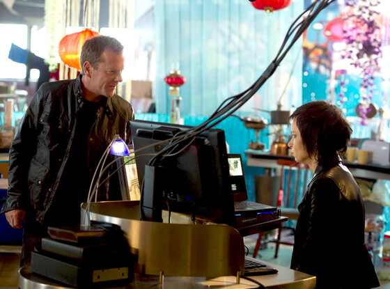 Kiefer Sutherland, Mary Lynn Rajskub, 24: Live Another Day